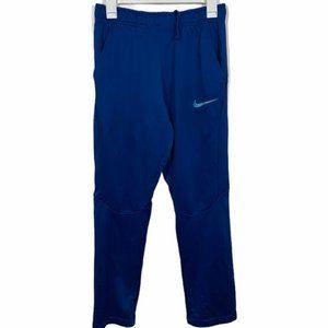 Nike Dri-Fit Blue Straight Leg Athletic Sweatpants
